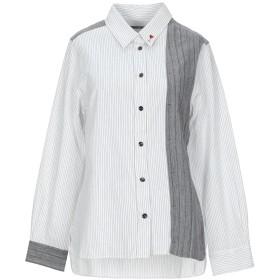《セール開催中》HIGH by CLAIRE CAMPBELL レディース シャツ ホワイト 42 コットン 100%