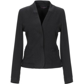 《セール開催中》TRUSSARDI JEANS レディース テーラードジャケット ブラック 46 アクリル 56% / ウール 26% / ポリエステル 18%