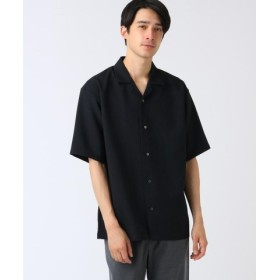 (tk. TAKEO KIKUCHI/ティーケー タケオキクチ)ブッチャーオープンカラーシャツ/メンズ ブラック(019)