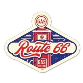 ルート66 ROUTE66 ステッカー ラージ Route 66 Gas Pump 66-SP-ST-707 ルート66雑貨 アメリカン雑貨 アメリカ雑貨 アメ雑