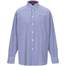 《セール開催中》MERC メンズ シャツ ブルー S コットン 100%