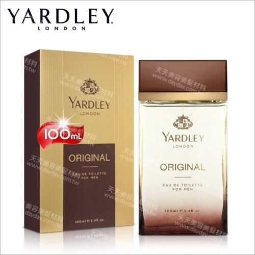 YARDLEY雅麗男性淡香水-100mL[56603]英國皇室背書的香氛品牌