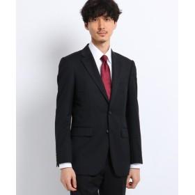 タケオキクチ サージ ジャケット Fabric by MIYUKI KEORI メンズ ブラック(019) 05(3L) 【TAKEO KIKUCHI】