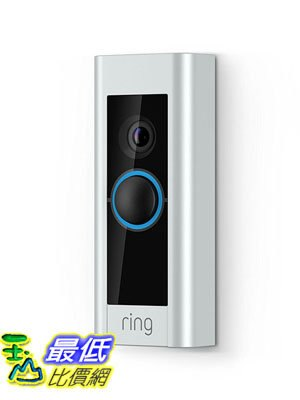 [106美國直購] Ring Video 門鈴 Doorbell Pro (Wiring Required)