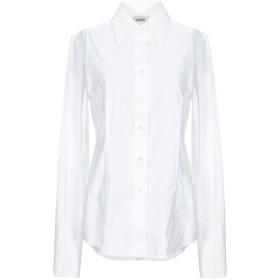 《セール開催中》CALIBAN レディース シャツ ホワイト 46 コットン 97% / ポリウレタン 3%