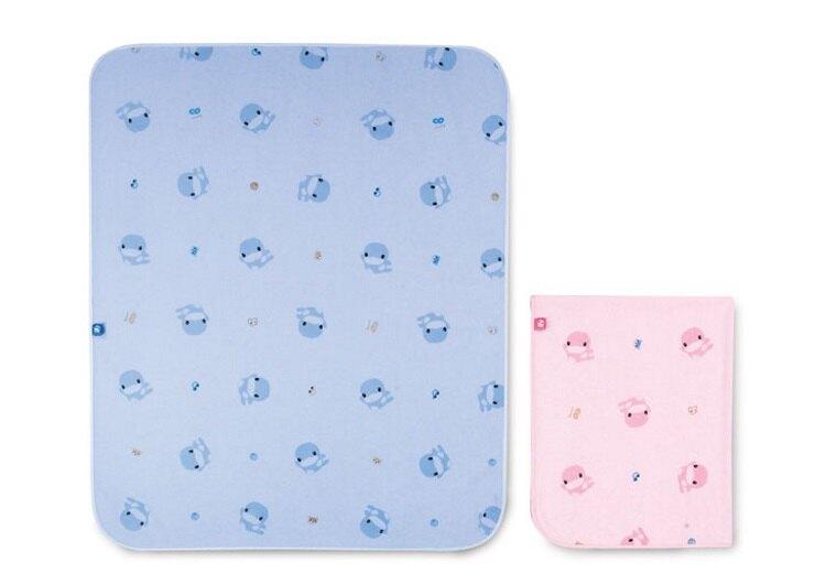 KUKU防滲水透氣墊(藍/粉)