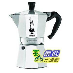 [2美國直購] Bialetti 6800 Moka Express 6-Cup Stovetop Espresso Maker 經典摩卡壺(MOKA) 6 杯份 _CB11