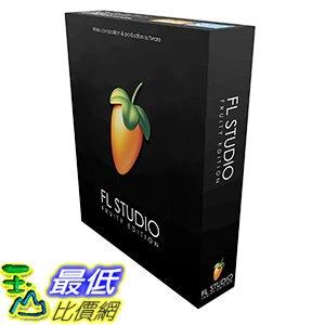 [106美國直購] 2017美國暢銷軟體 Image Line FL Studio Fruity Edition