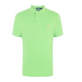 《セール開催中》POLO RALPH LAUREN メンズ ポロシャツ ビタミングリーン XS コットン 100% POLO NEON