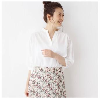 【シューラルー/SHOO・LA・RUE】 バックレースデザインシャツ