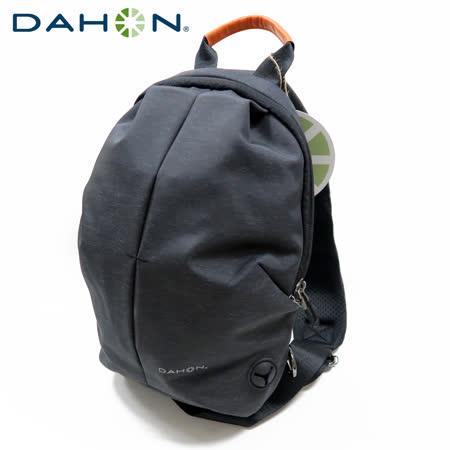DAHON大行 Fashion Sling Bag時尚運動背包-黑灰