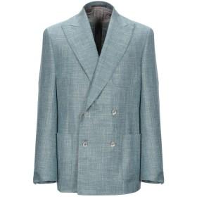 《期間限定セール開催中!》CORNELIANI メンズ テーラードジャケット ライトグリーン 50 バージンウール 68% / シルク 20% / 麻 12%