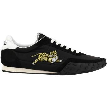 《セール開催中》KENZO メンズ スニーカー&テニスシューズ(ローカット) ブラック 41 紡績繊維