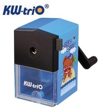 KW 卡通 030KB 削鉛筆機 削筆機 (卡通圖案、顏色隨機出貨) / 台
