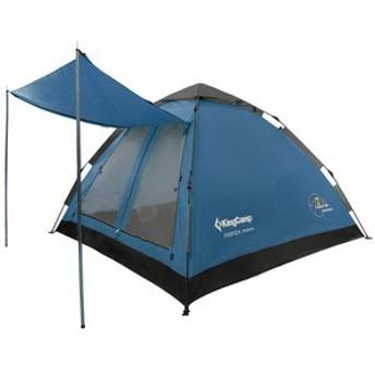 キングキャンプ テント KingCamp KT3092 ワンタッチテント BLUE