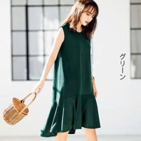 ジーラ バイ リュリュ(ファッション)(GeeRA by RyuRyu)/【2019夏新着】ペプラムカットソーワンピース