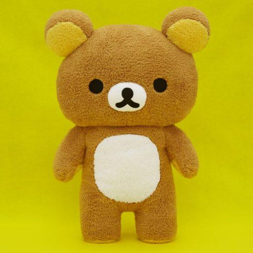 懶熊Rilakkuma 絨毛娃娃55cm景品,絨毛/填充玩偶/玩具/公仔,X射線【C030083】