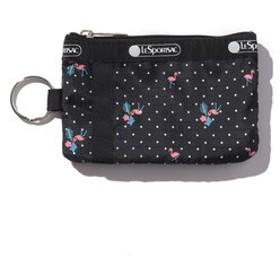 【LeSportsac:財布/小物】ID CARD CASE/フラミンゴビーチ