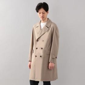 SALE【サンヨー コート メン(SANYO COAT MEN)】 <Spring Coat>シルクコットンダブルブレストコート ベージュ