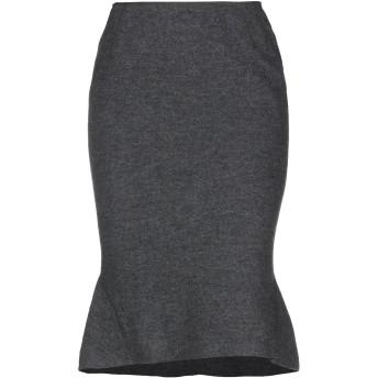 《9/20まで! 限定セール開催中》CLIPS レディース ひざ丈スカート 鉛色 42 ウール 100%
