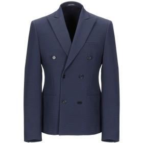 《期間限定セール開催中!》SIMON PEET メンズ テーラードジャケット ダークブルー 46 ポリエステル 80% / レーヨン 13% / ポリウレタン 7%