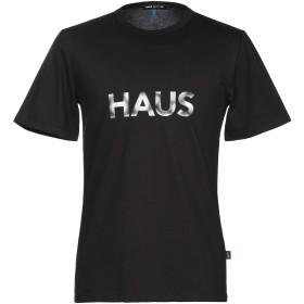 《期間限定セール開催中!》HAUS GOLDEN GOOSE メンズ T シャツ ブラック S コットン 100%