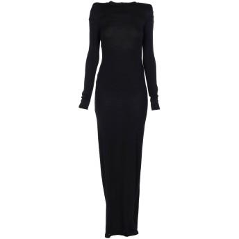 《セール開催中》ANN DEMEULEMEESTER レディース ロングワンピース&ドレス ブラック 36 ウール 100%