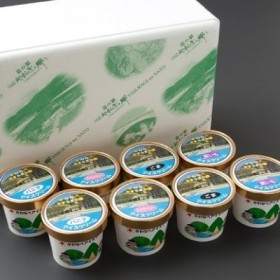 道の駅かわなべアイスクリームセット