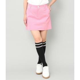 ジュン アンド ロペ/【吸水速乾】【透湿】ペチコート一体型パイピングスカート/ピンク/L