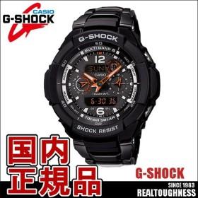 CASIO G-SHOCK ジーショック メンズ 腕時計 GW-3500BD-1AJF  電波ソーラー スカイコックピット アナデジ ブラック