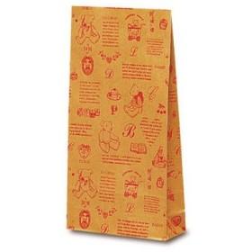 ベルベ 雑貨 食品 2212 洋品袋Y-2 ベアコレクション レッド 2212 1包:1000枚(100×10) (直送品)