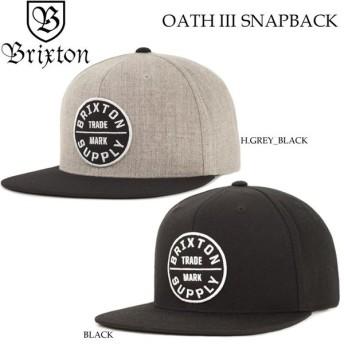 2018 Brixton キャップ スナップバック OATH III SNAPBACK ブリクストン