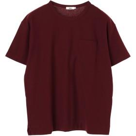 【6,000円(税込)以上のお買物で全国送料無料。】mens 脇スリット半袖ポケTEE