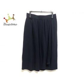 イヴサンローラン スカート サイズM レディース 美品 ダークネイビー diffusion femmes   スペシャル特価 20190929