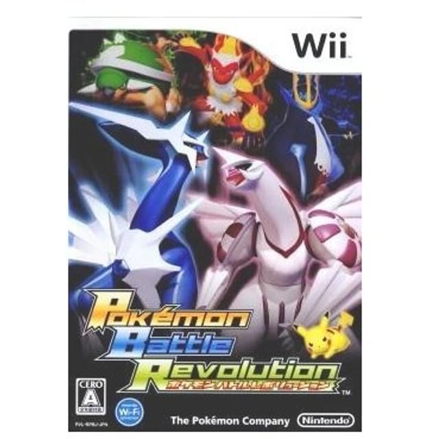 『中古即納』{表紙説明書なし}{Wii}ポケモンバトルレボリューション(Pokémon Battle Revolution)(20061214)