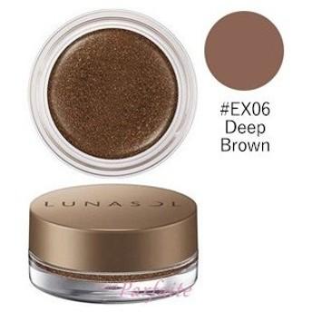 アイシャドウ ルナソル -LUNASOL- シマーカラーアイズ #EX06 Deep Brown 5.4g メール便対応 メール便送料無料