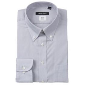 【THE SUIT COMPANY:トップス】【COOL MAX】ボタンダウンカラードレスシャツ 織柄〔EC・BASIC〕