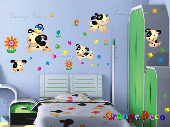 頑皮狗 DIY組合壁貼 牆貼 壁紙 無痕壁貼 室內設計 裝潢 裝飾佈置【橘果設計】