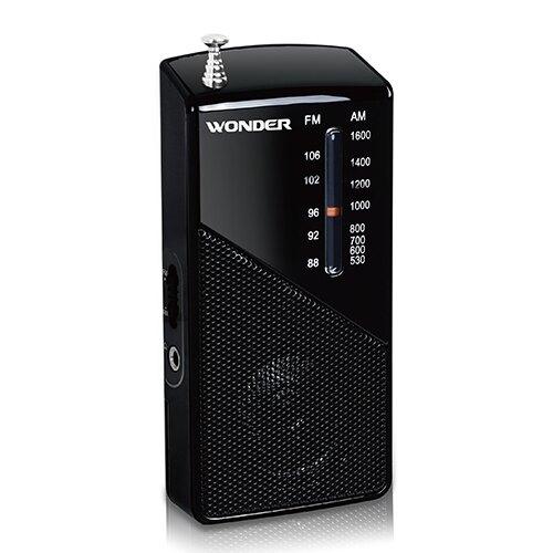 WONDER 旺德 口袋型手提式收音機 WS-R16