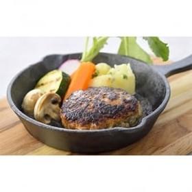 肉汁あふれる!おさつポークの手づくり生ハンバーグセット