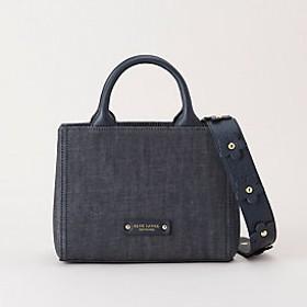 【ブルーレーベル・クレストブリッジ 】フラワーモチーフトートバッグ