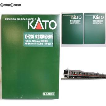 『中古即納』{RWM}10-1246 特別企画品 東急電鉄5050系4000番台 10両セット Nゲージ 鉄道模型 KATO(カトー)(20150321)
