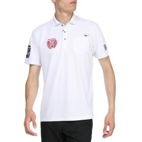 ミズノ ゴルフ ドライエアロフロー半袖シャツ シャツ衿 メンズ 52MA910601