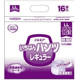 個人宅配達不可 業務用 エルモア いちばんパンツレギュラー LL / 452031 16枚 1ケース(6袋入)