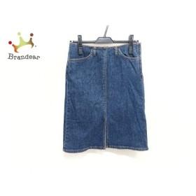バーバリーブルーレーベル Burberry Blue Label スカート レディース ネイビー デニム   スペシャル特価 20190922