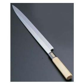 SA佐文 本焼鏡面仕上 柳刃 木製サヤ 27cm
