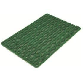 ミヅシマ工業 ミヅシマ ニューマットG型 600×900 緑 402-0950 1枚 449-7007(直送品)