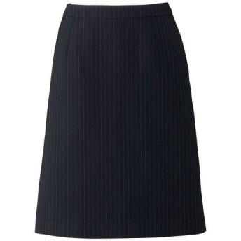 ボンマックス Aラインスカート ネイビー×グレイ 21号 AS2284-28-21 1着(直送品)