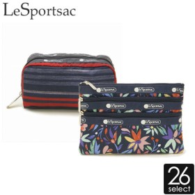 LeSportsac ポーチ 3ZIP COSMETIC レディース
