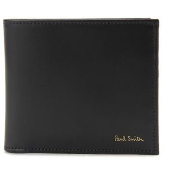 ポールスミス 二つ折り財布 Paul Smith ASXC-4833-W761-B ブラック